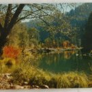 "POSTCARD ""Autumn"" VINTAGE Feather River  California"