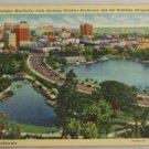 Linen Card-VINTAGE POSTCARD-Los Angeles,CA 1941