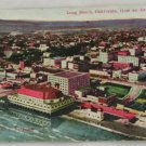 Hand Colored Postcard VINTAGE POSTCARD Long Beach 1916