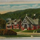 Hand Colored Postcard VINTAGE POSTCARD Warm Springs VA
