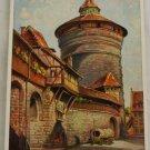 POSTCARD German-Nurnberg-Ludwig Mobler-Spittlertorturm
