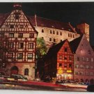 POSTCARD Germany-Bavaria-Nurnberg-Town Night