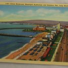 Linen Card-VINTAGE POSTCARD-Long Beach CA 1939