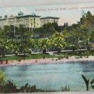 Hand Colored Postcard VINTAGE POSTCARD LA-Westlake Park
