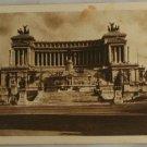 Sepia VINTAGE POSTCARD Italy-Rome-Roma-Monument Vittorio
