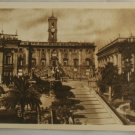 Sepia VINTAGE POSTCARD Italy-Rome-Roma-The Capitol