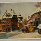 POSTCARD Germany-Bavaria-Nurnberg-Winter Morning