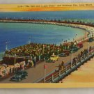 Linen Card-VINTAGE POSTCARD-Long Beach CA 1940