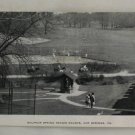 Black & White Postcard VINTAGE POSTCARD Hot Springs VA