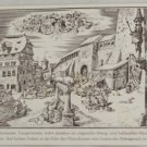 POSTCARD Germany-Bavaria-Nurnberg-Durer's House
