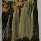 Hand Colored Postcard VINTAGE POSTCARD Waterfall-No ID