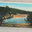 White Border-VINTAGE POSTCARD-Yellowstone-Firehole Lake
