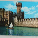 POSTCARD Italy-Lago Di Garda-Sirmione-Scala Castle