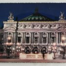 POSTCARD France,Paris,Opera Theater-Deckle Edge