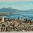 POSTCARD Italy-Napoli-View of Naples and Vesuvius