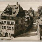 POSTCARD Germany-Bavaria-Nurnberg-Durer's House BWPhoto