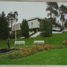 POSTCARD Finland-Riihimaki-Church,Pond