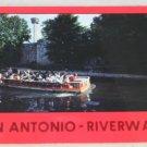 POSTCARD USA Texas, San Antonio Riverwalk