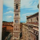 POSTCARD Italy-Firenze-Giotto's Church Steeple 1962