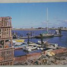 POSTCARD USA New Hampshire,Rye Harbor,Lobster Pots