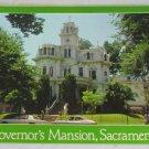 POSTCARD USA California,Sacramento,Governor's Mansion