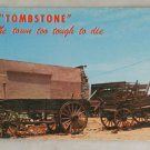 POSTCARD Arizona,Tombstone,Old Freight Wagons