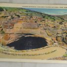 POSTCARD New Mexico,Carlsbad Caverns Curteich 37 White Border Litho