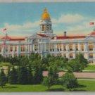 POSTCARD Wyoming,Cheyenne,State Capitol  LITHO Curteich
