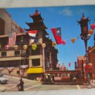 POSTCARD California,San Francisco, Chinatown Grant Ave