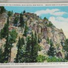 POSTCARD New Mexico,Raton,Palisades of the Cimarron,Litho