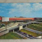POSTCARD Michigan,Detroit,Cobo Hall and Expressways