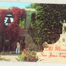 POSTCARD California,San Juan Capistrano Mission Courtyard