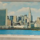POSTCARD New York City, United Nations Headquarters