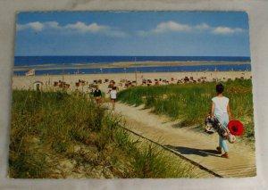 POSTCARD Germany,North Sea Spa Langeoog,Island
