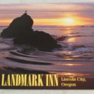 VINTAGE POSTCARD Oregon,Lincoln City,Landmark Inn