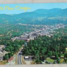 VINTAGE POSTCARD Oregon,Grants Pass,Aerial View