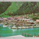 VINTAGE POSTCARD Alaska,Juneau,Boat Harbor Chrome