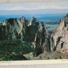 POSTCARD Oregon,Central Oregon,Smith Rocks  Deckle Edge