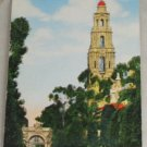POSTCARD California,San Diego,California Tower  Linen