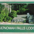 VINTAGE POSTCARD Oregon,Multnomah Falls Lodge