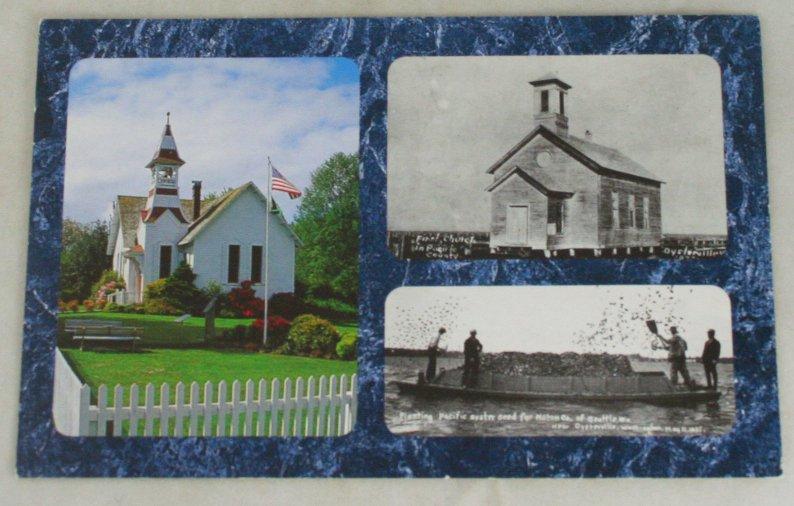 VINTAGE POSTCARD Washington,Oysterville,Historic Church