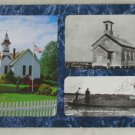 VINTAGE POSTCARD Washington,Oysterville,Historic Church