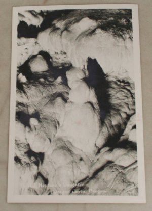 VINTAGE POSTCARD Oregon Caves Natl Monument,Real Photo