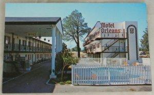 VINTAGE POSTCARD California,Redding,Motel Orleans