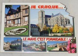VINTAGE POSTCARD France,LeMans, Wonders of Maine