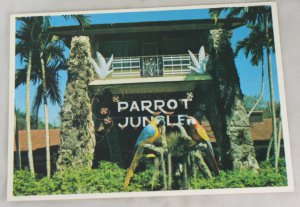 VINTAGE POSTCARD Florida,Parrot Jungle,Performers