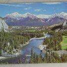 VINTAGE POSTCARD Canada,Alberta,Banff Springs Hotel