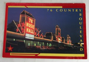 VINTAGE POSTCARD Missouri,Branson,76 Country Boulevard