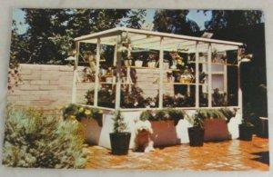 VINTAGE POSTCARD Advertising,Portagro Greenhouse
