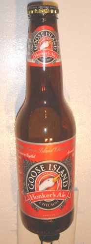 Goose Island Honker's Ale Hand Crafted Beer Bottle Night Light